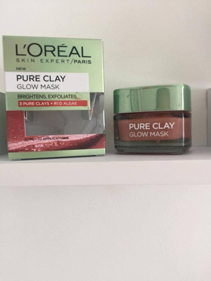 L'Oreal Paris Pure Clay Glow MaskReview
