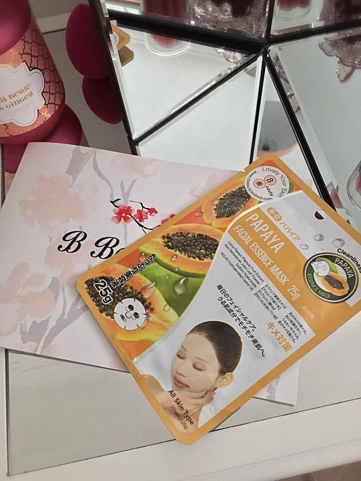 B Beauty Limited Review : Korean FaceMasks