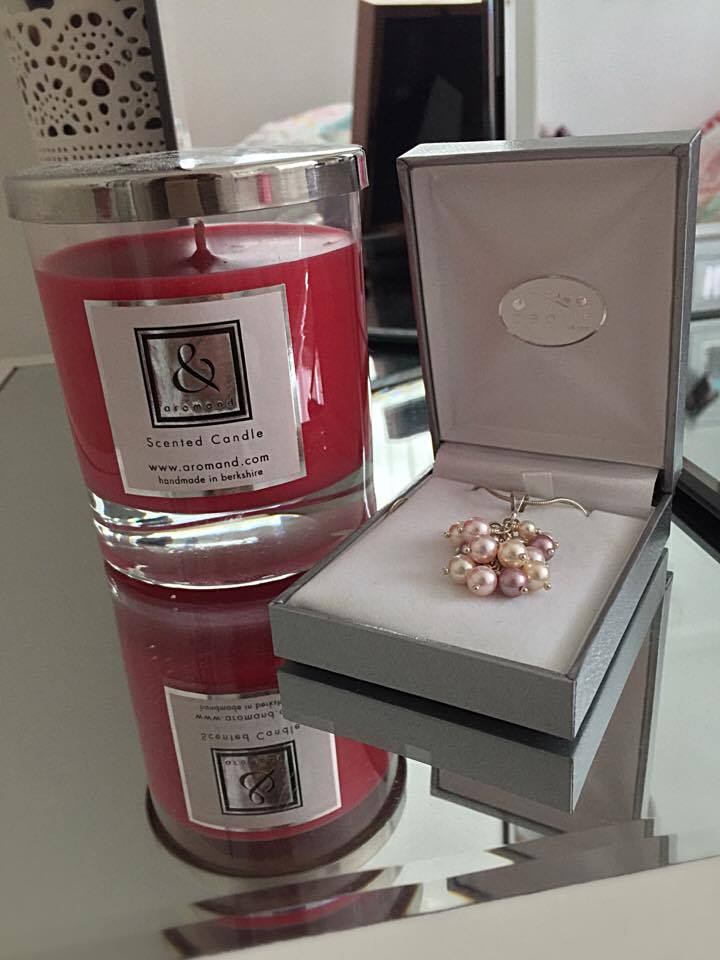 Aromand UK : Candle and Jewellery Review