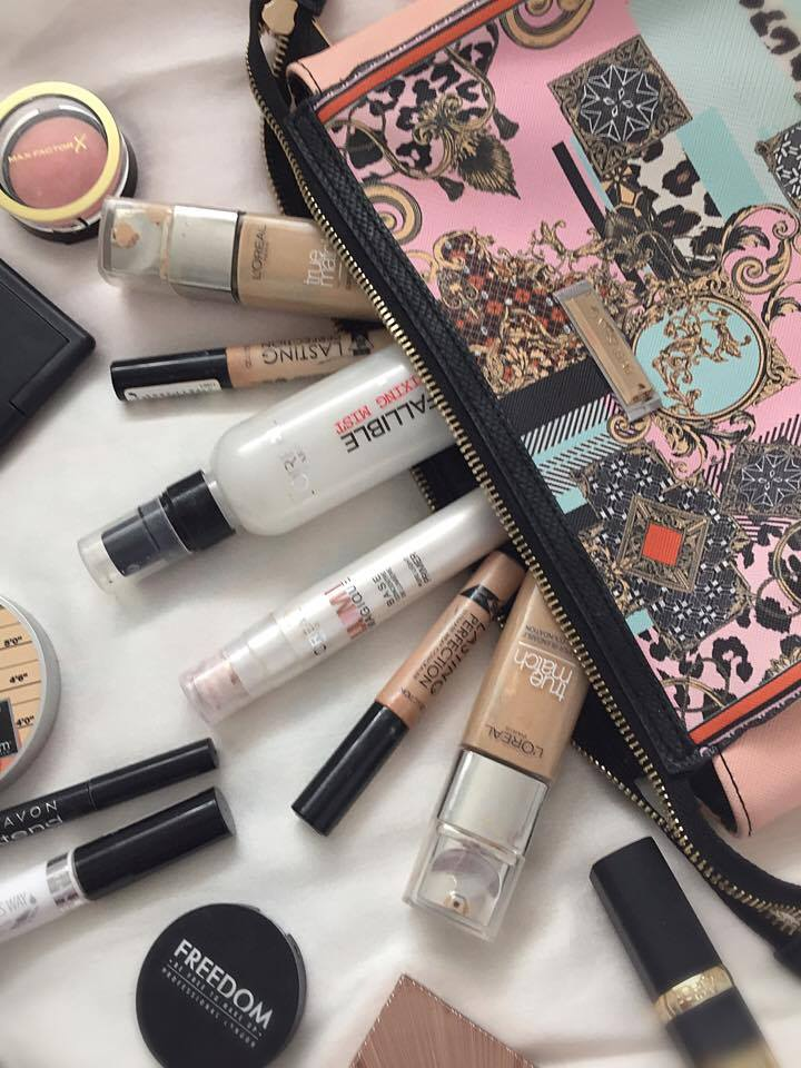 My Spring Everyday Makeup Bag