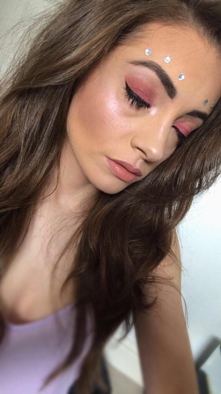 A Simple Festival Look using 3INACosmetics