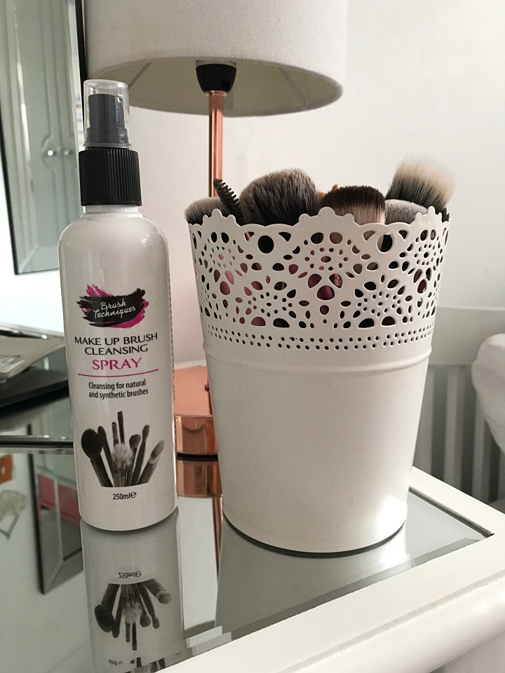 How I Spot Clean MyBrushes