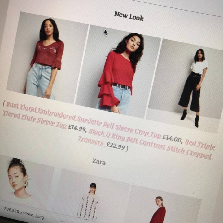 High Street Fashion Wishlist : Autumn 2017