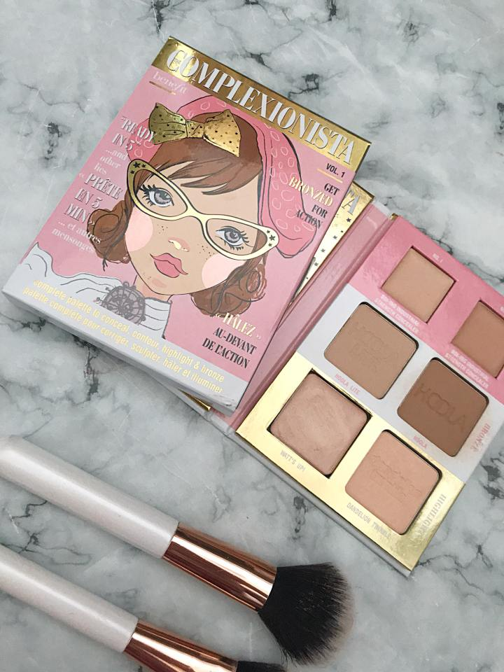 Benefit Complexionista Palette Review : The Ultimate Face Palette