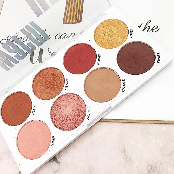 Obssesion Makeup Warm Up Palette : AReview