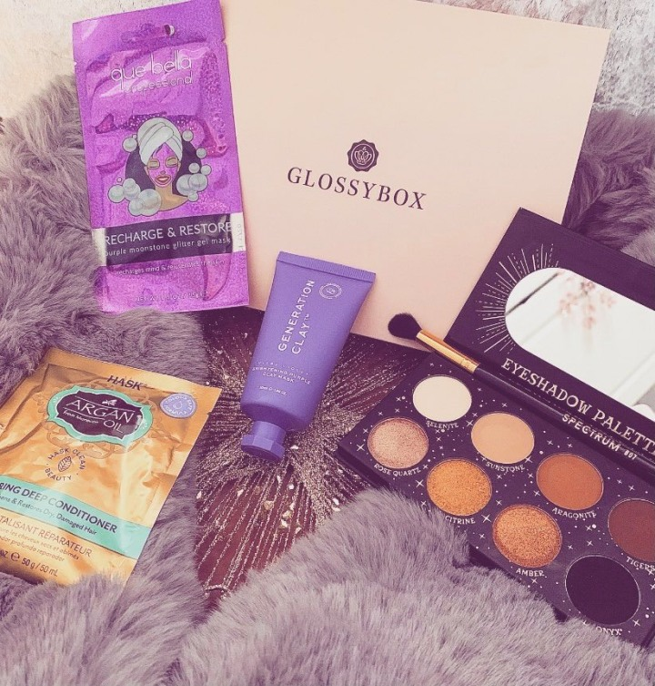 Glossybox November Unboxing